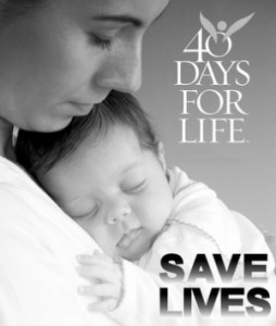 40 Days for Life Kicks Off in the United Kingdom