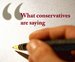 What Conservatives Are Saying